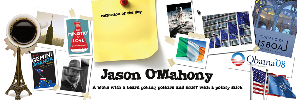 Jason OMahony - Irish political blogger, Irish politics, EU politics