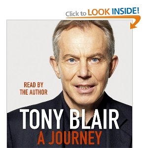 Blair. In his own words. Literally.