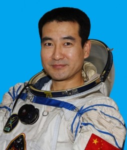 Colonel Zhai Zhigang, the first Chinese man on the moon.