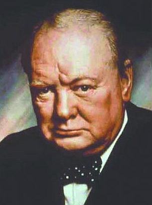 Churchill, one of Europe's founding fathers.