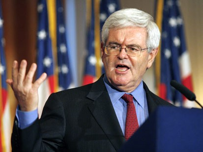 On taxes, Newt could agree with most of the United Left Alliance principles.