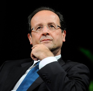 Hollande lobs a grenade into the debate.