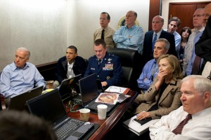 Do you think, at this moment, Bin Laden wondered which side the president was on?