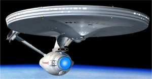 Star Trek Enterprise Ship 1701 2